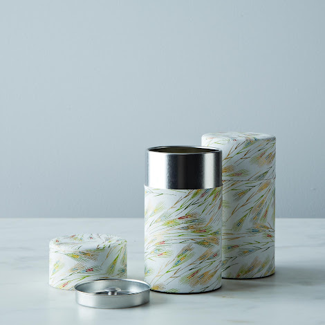 Washi Tin Taiyo No Ho, White (Set of 2)