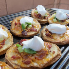 Potato Slices Made Like Potato Skins
