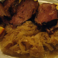 Country Pork and Sauerkraut