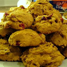 Cranberry-Pumpkin Cookies