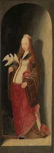 RIJKS: attributed to Meester van de Brunswijkse Diptiek: painting 1500
