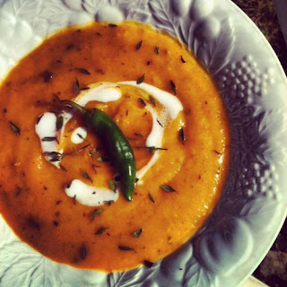 Absolutely Amazing Spiced Butternut Squash Soup!