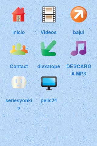Screenshot #1 of descargatodo / Android