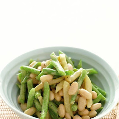 Three-Bean Salad with Vinaigrette