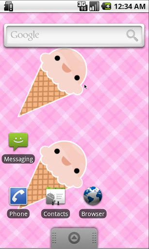 Cute ice cream wallpaper