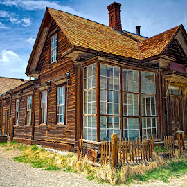 Our House In the Middle of Our Street by Patrick Flood - Buildings & Architecture Decaying & Abandoned ( canon, highway 395, gold mine, eastern sierras, photosbyflood, california, state park, ghost town, bodie, abandoned, bridgeport )
