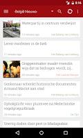 Screenshot of België Nieuws