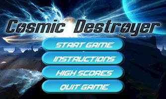 Screenshot of Cosmic Destroyer (Free) *BETA*