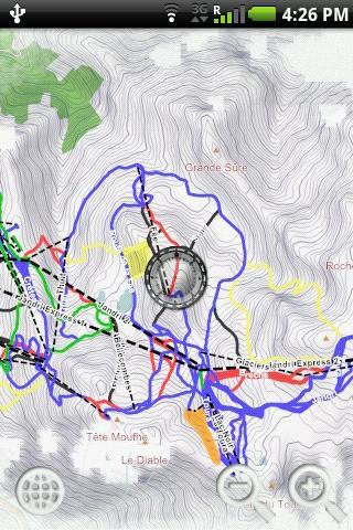 【免費旅遊App】Geoskiing: Les 2 Alpes-APP點子