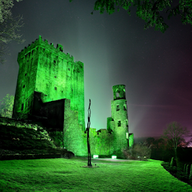 Blarney Castle by Vytenis Carrigphoto - Buildings & Architecture Public & Historical ( st.patrick, ireland, cork, green, architecture, space, blarney, paddy's, castle, night, day, historical, light )