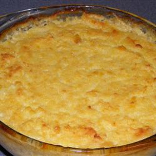 Baked Corn Pudding With Cornmeal Recipes