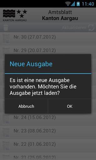【免費書籍App】Amtsblatt AG-APP點子