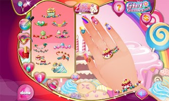 Screenshot of Candy Design Nail Studio