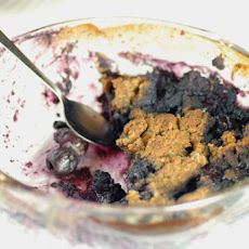 Blueberry Cherry Crumble