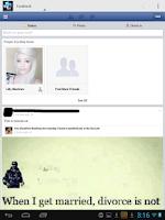 Screenshot of Social Network Portal