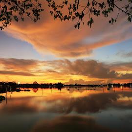 Lake by Yadi Suyanto - Landscapes Sunsets & Sunrises