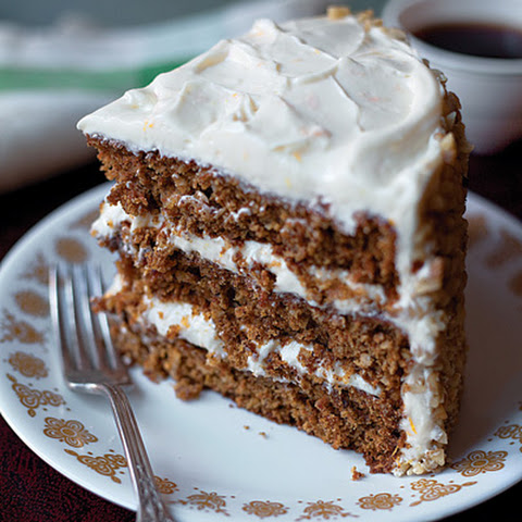 Spiced Carrot Layer Cake