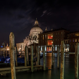 Santa Maria della Salute by Nigel Logan - Buildings & Architecture Places of Worship ( venice,  )