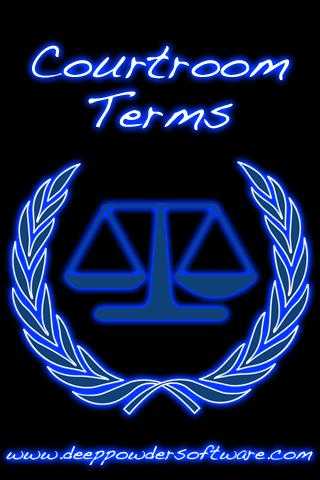 Courtroom Terms
