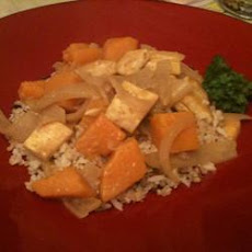 Chicken Pumpkin Coconut Curry