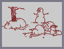 Thumbnail of the map 'Snowman House Of Horror'