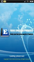 Screenshot of 1000 English Phrases