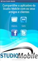 Screenshot of QR Scan Studio Mobile