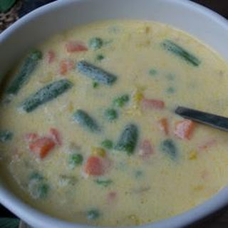Cheesy Vegetable Soup I