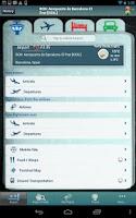 Screenshot of Barcelona Airport+Flight Track
