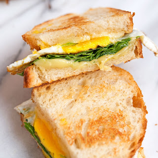 Savory Fried Egg + Spinach