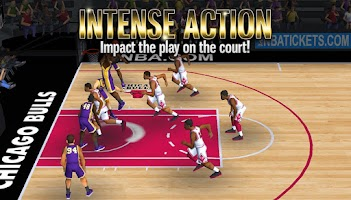 Screenshot of NBA Battle in the Paint