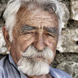 Old men by Renata Arvaj - People Portraits of Men ( old man, people )
