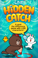 Screenshot of LINE HIDDEN CATCH