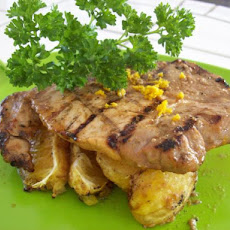 Smoky Orange Glazed Pork Chops