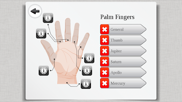 Screenshot of Palm Reading Premium HD Lite