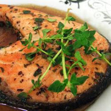 Pan Fried Salmon With Thyme