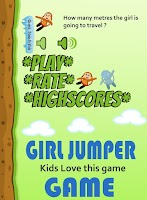 Screenshot of Kids Girl Jumper Game