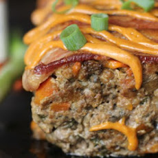 Bacon Chorizo Chipotle Smothered Meatloaf