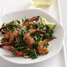 Vietnamese-Style Shrimp and Watercress Stir-Fry