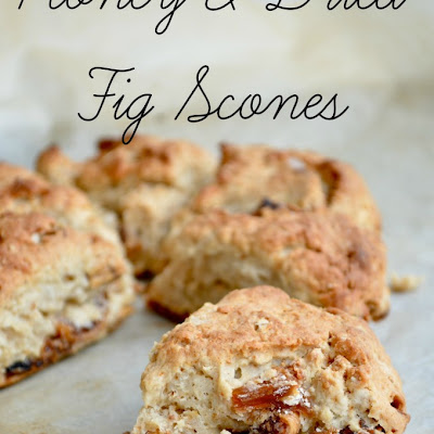 Honey & Dried Fig Scones