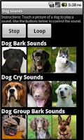 Screenshot of Dog Sounds