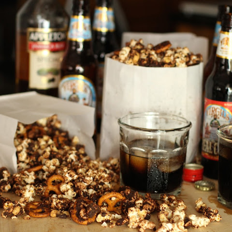 No-Fuss Oscar Party Popcorn … with Grown-Up Soda Pop