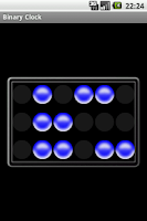 Screenshot of Binary Clock C.P.S.