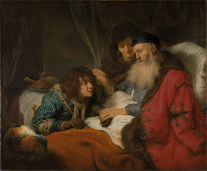 RIJKS: Govert Flinck: Isaac Blessing Jacob 1638