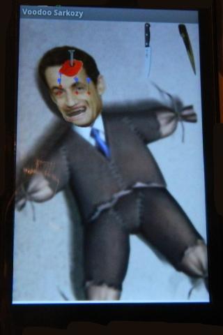 Sarkozy Voodoo doll