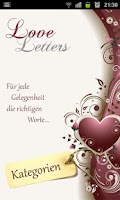 Screenshot of Love Letters