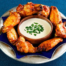 Spicy Middle Eastern Chicken Wings
