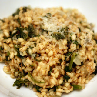 Farro Risotto with Rapini