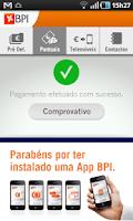 Screenshot of BPI Pagamentos