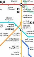 Screenshot of Delhi Metro Navigator